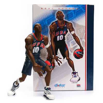 Kobe Bryant USA Basketball Edition Upper Deck All-Star Vinyl Figure and Package