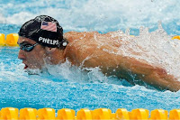 Michael Phelps Swims For His 8th Gold Medal At The 2008 Beijing Summer Olympics