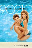 90210 Character Television Poster - Ethan and Naomi - New Drama. Same Zip Code.