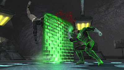 Mortal Kombat vs. DC Universe Screenshots - Green Lantern vs. Liu Kang