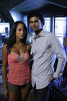 Heroes - Dania Ramirez as Maya Herrera and Sendhil Ramamurthy as Mohinder Suresh