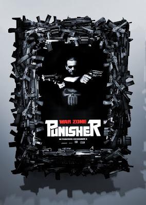 Punisher: War Zone Promo Movie Poster