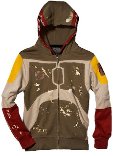 Marc Ecko Star Wars Collection - Boba Fett Character Hoodie