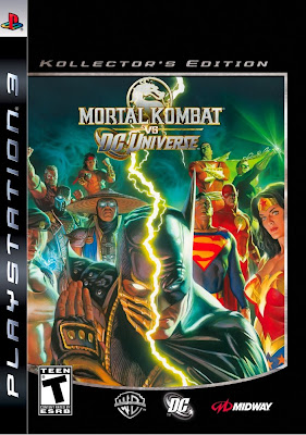 Mortal Kombat vs. DC Universe: Kollector's Edition Video Game Box Art by Alex Ross