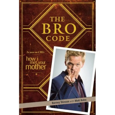How I Met Your Mother - The Bro Code Book Cover