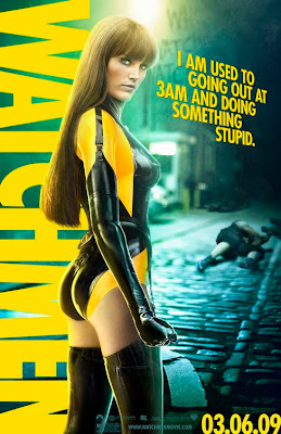 Watchmen Character Movie Posters - Malin Akerman as Silk Spectre