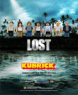 Metltdown Comics Exclusive Lost Kubrick and Be@rbrick Launch Party