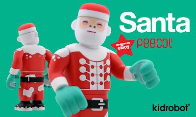 Kidrobot - Santa Peecol by eBoy