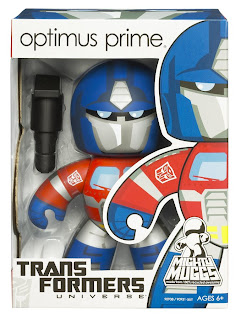 Transformers Mighty Muggs Wave 1 - Optimus Prime Mighty Mugg in Package