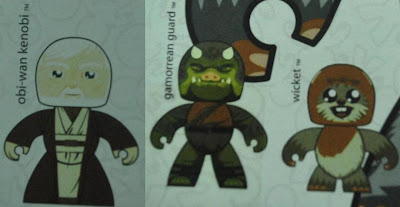 Future Star Wars Mighty Muggs Releases For 2009 (Waves 8 and 9) - Episode IV Obi-Wan Kenobi, Gamorrean Guard and Ewok Wicket