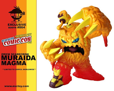 ESC Toy – Muraida New York Comic Con Magma Colorway Vinyl Figure by Erick Scarecrow