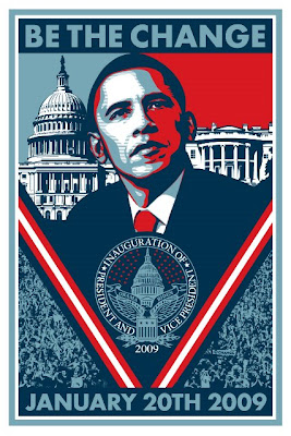 OBEY Giant - Limited Edition 2009 Barack Obama Presidential Inauguration Print by Shepard Fairey