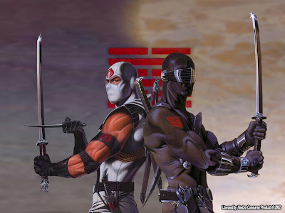 G.I. Joe - Snake Eyes and Storm Shadow Poster