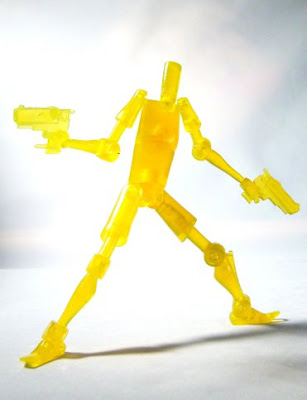 Shocker Toys Indie Spotlight - Rob Schrab's SCUD the Disposable Assassin New York Comic Con 2009 Exclusive Translucent Action Figure
