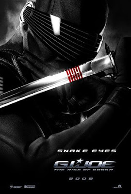 G.I. Joe: Rise of Cobra Character Movie Posters Set 1 - Ray Park as Snake Eyes