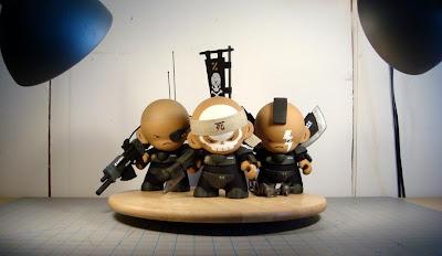 Huck Gee - The UTCMC ZOR Dread Squad: Corporal E.E. Lensman, Sergeant Vasquez & Corporal Thundersticks Anson