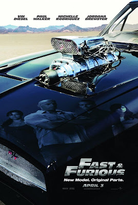 Fast & Furious Teaser Movie Poster