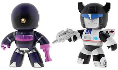 Transformers Mighty Muggs Wave 3 - Shockwave & Jazz