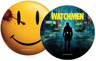My Chemical Romance - Desolation Row Single on a Watchmen Picture Disc Vinyl Record