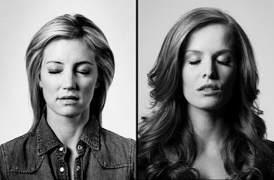Entertainment Weekly: LOST Portraits of the Dead - Cynthia Watros as Elizabeth 'Libby' Smith & Rebecca Mader as Charlotte Lewis