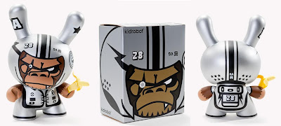Kidrobot - Da Space Warrior 8 Inch Dunny and Packaging by Tim Tsui