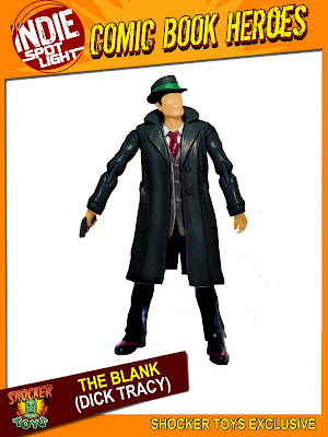 San Diego Comic-Con 2010 Exclusive The Blank (from Dick Tracy) Action Figure by Shocker Toys