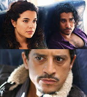 Lost - 316 - Zuleikha Robinson as Ilana, Naveen Andrews as Sayid Jarrah and Said Taghmaoui as Caesar