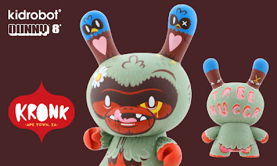 Kidrobot - Tree Huggr 8 Inch Dunny by Kronk