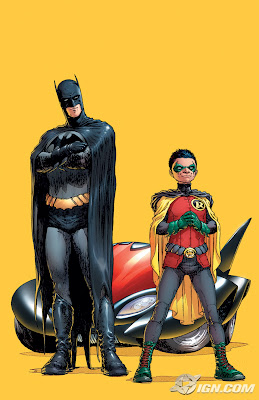 DC Comics - Batman and Robin #1 Cover Artwork by Frank Quitely