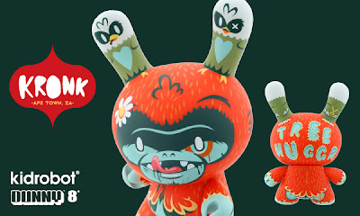 Kidrobot - Tree Huggr AWOL Edition 8 Inch Dunny by Kronk