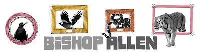 Bishop Allen Grrr... Logo