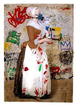 The Chocolate Vandal Print by Mr. Brainwash