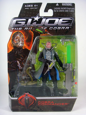 G.I. Joe: Rise of Cobra - Cobra Commander Movie Tie-In 3 3/4 Inch Action Figure