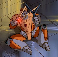 Transformers Generation 1 Animated Cartoon - Wheelie