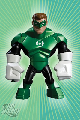 DC Direct Uni-Formz Vinyl Figures - Modern Green Lanter Colorway