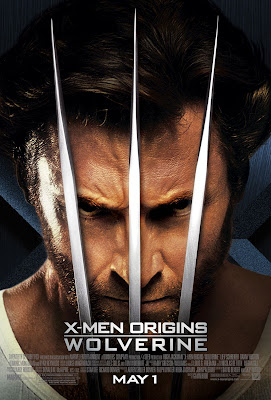 X-Men Origins: Wolverine Final Theatrical One Sheet Movie Poster