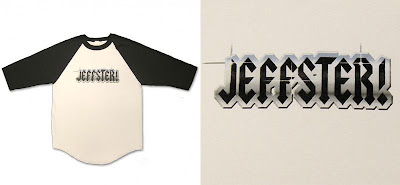 Chuck - The Jeffster Raglan Baseball T-Shirt