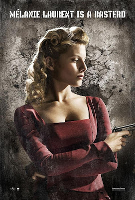 Inglourious Basterds Character Movie Posters - Melanie Laurent as Shosanna Dreyfus