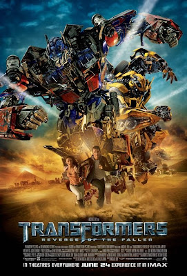 Transformers: Revenge of the Fallen Final IMAX One Sheet Movie Poster