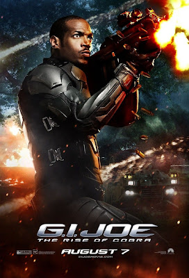G.I. Joe Rise of Cobra Character Movie Posters Set 3 - Marlon Wayans as Ripcord