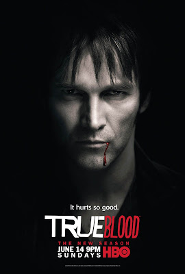 True Blood Season 2 Character Television Posters - Stephen Moyer as Bill Compton