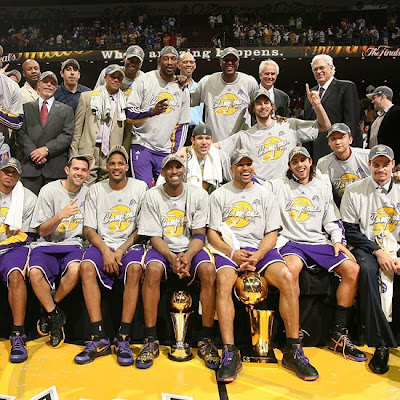 The Los Angeles Lakers - 2009 NBA Champions