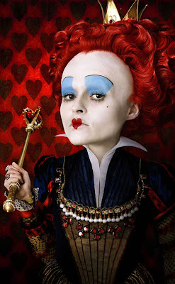 Tim Burton's Alice In Wonderland Promotional Photos - Helena Bonham Carter as The Red Queen