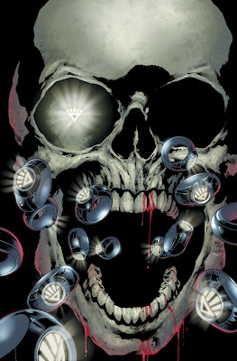 Blackest Night Issue #1 Cover Artwork