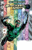 Blackest Night Issue #0 Cover Artwork