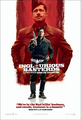 Inglourious Basterds Character Movie Posters Set 2 - Brad Pitt is Lt. Aldo Raine