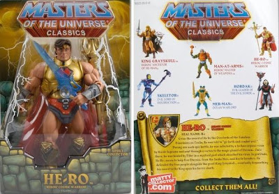 San Diego Comic Con 2009 Exclusive Masters of the Universe He-Ro Action Figure In Package Photo