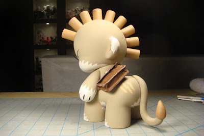 Koalataur the Outkast Custom Munny Vinyl Figure by Huck Gee Back