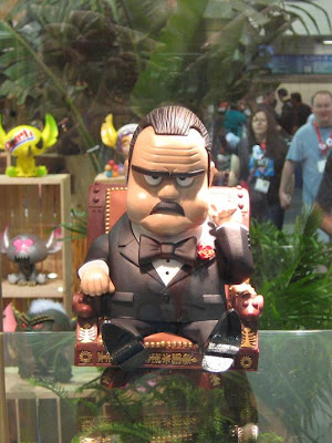 Michael Lau x MINDstyle The Godfather Seated In Chair Art Toy Collectible Vinyl Figure