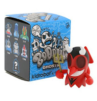 Kidrobot - BoOoya Ghosts Mini Series Vinyl Figure and Blind Box Packaging by MAD